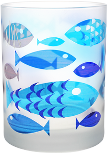 CULVER: Frosted Fish Pattern