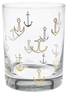 CULVER: 22k Gold Anchors Pattern
