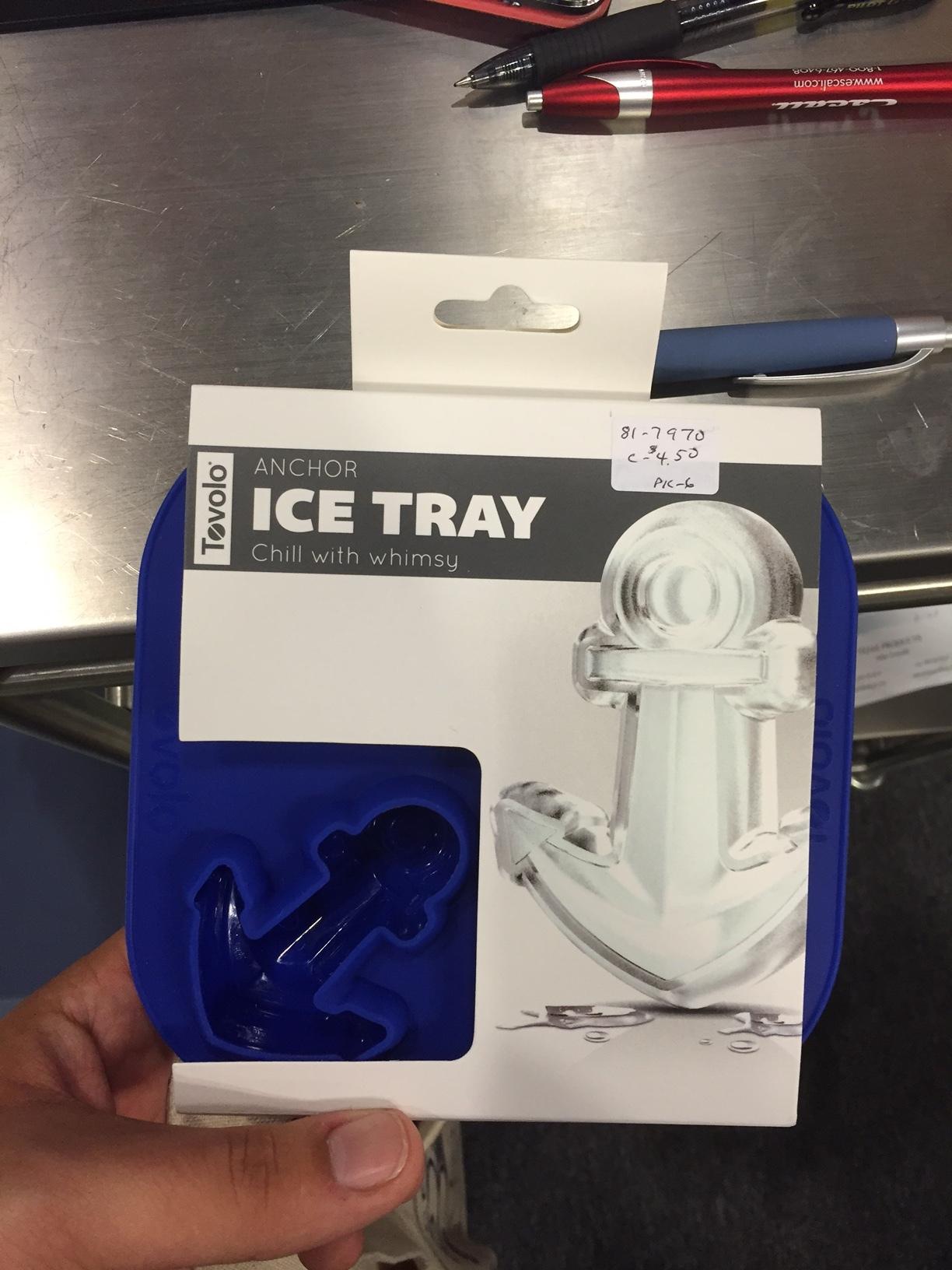 Tovolo: Novelty Ice Molds – Anchor