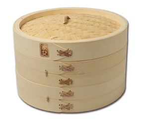 """Joyce Chen: 10"""" Bamboo Steamer"""