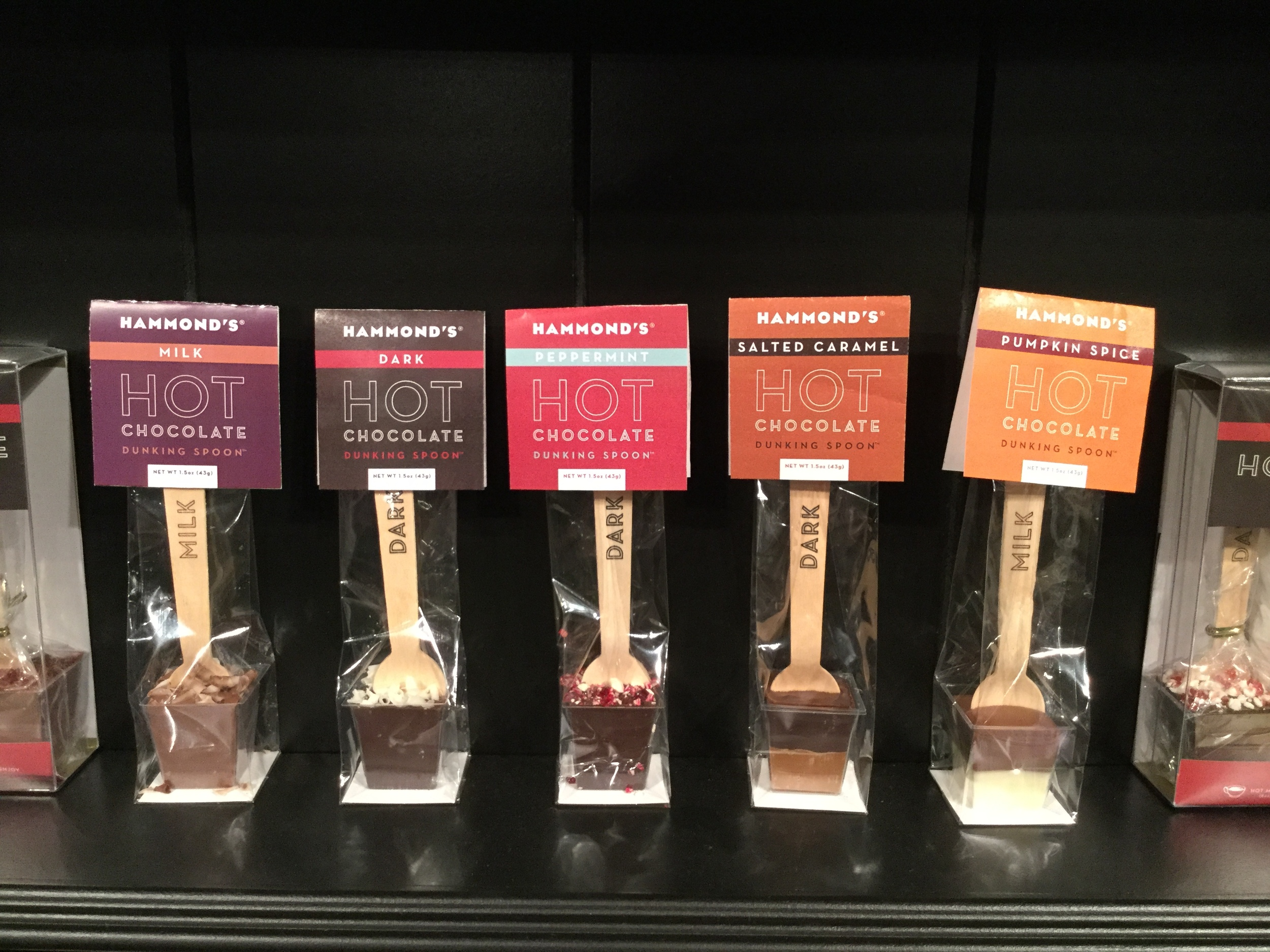Hammond's Candies Hot Chocolate Dunking Spoons