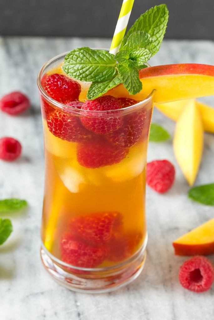 MANGO RASBERRY ICED TEA