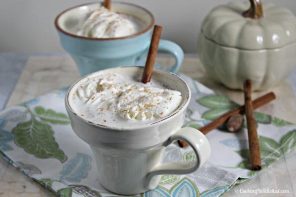 Bourbon Laced Vanilla Chai Tea Latte