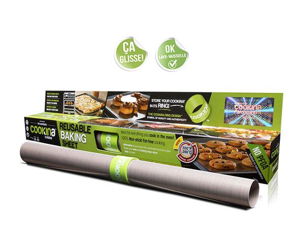 Cookina: Reusable Baking Sheet