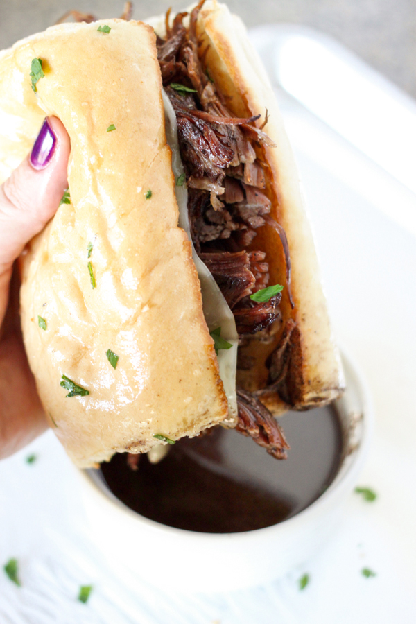 Pressure Cooker: French Dip Sandwiches