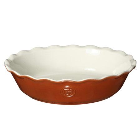 Emile Henry Pie Dish, Pumpkin