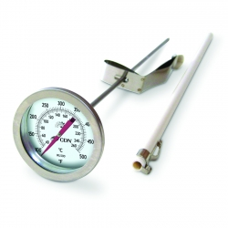 CDN: IRL500 - Long Stem Fry Thermometer – 12""