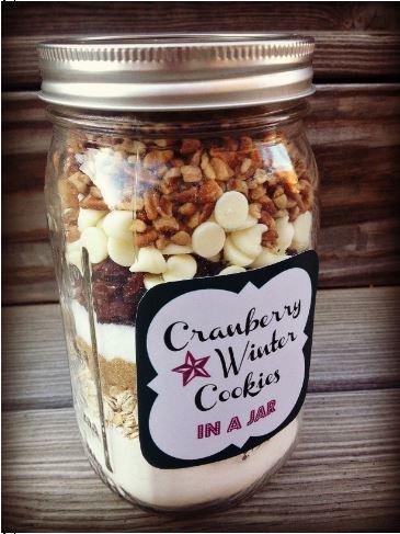 Cranberry Winter Cookies