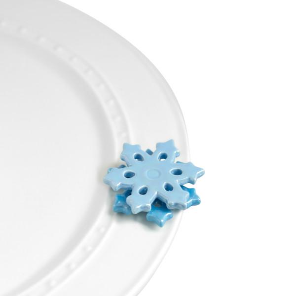 Nora Fleming mini: no two alike! Snowflakes
