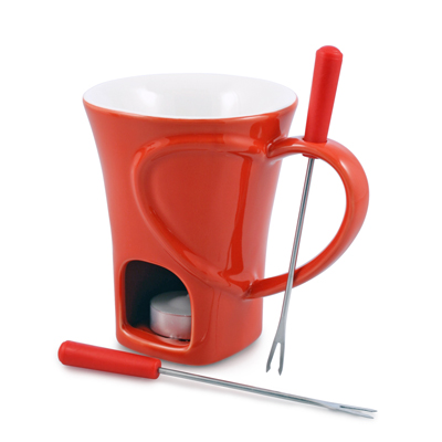 Swissmar: Sweetheart 4PC Chocolate Fondue Mug Set