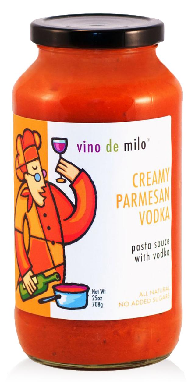 Creamy Vodka Parmesan