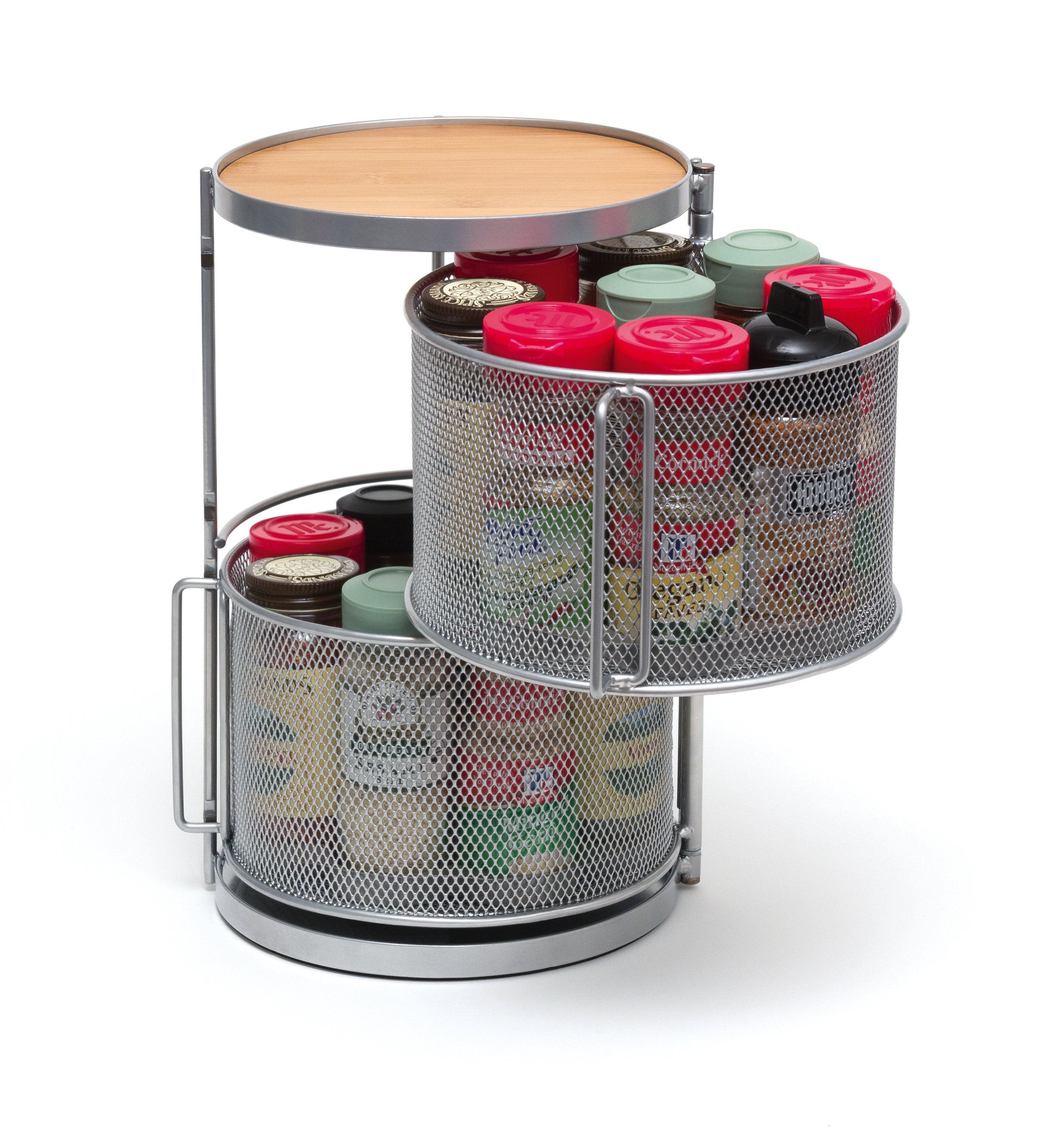Lipper: Two Tier Round Spice Tower