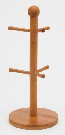 Lipper: Bamboo 6-Peg Mug Tree