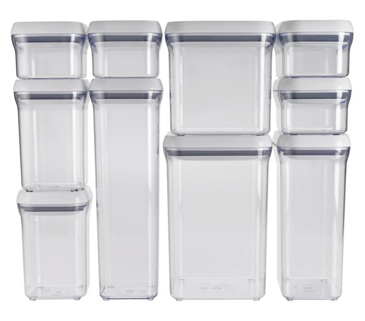 OXO: 10-Piece POP Container Set