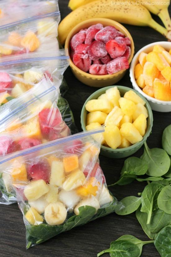 Freezer Smoothie Packs