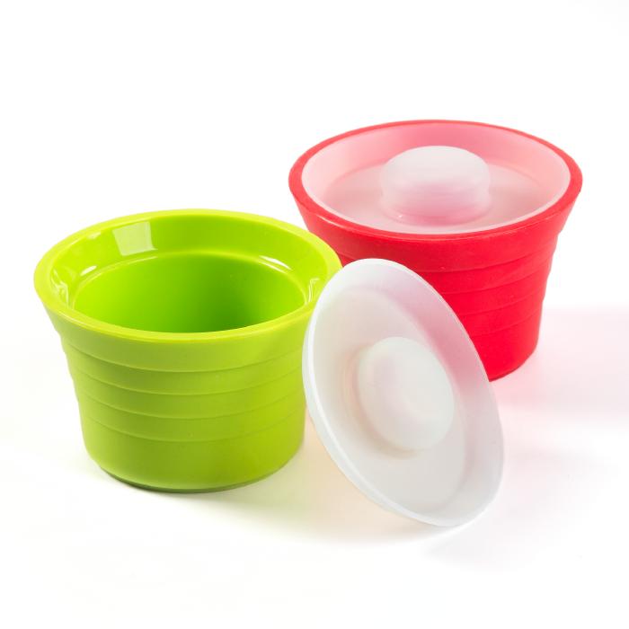 Kinderville Jars - Red/Green