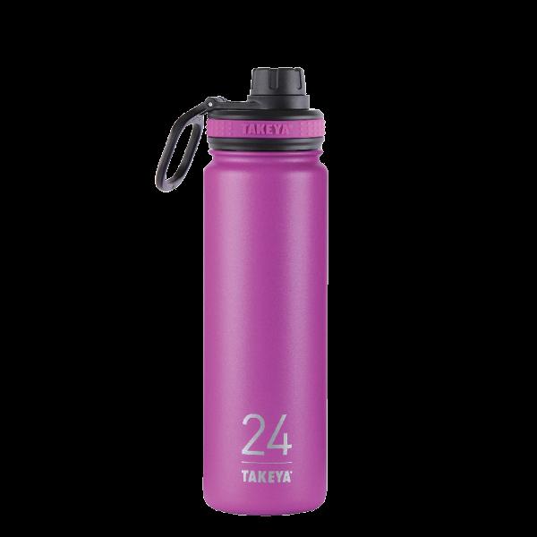 Takeya: 24oz Insulated Bottle w/Spout Lid