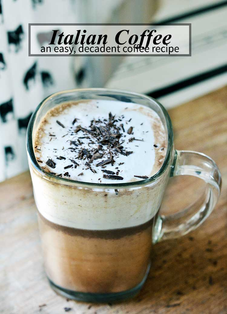 ITALIAN COFFEE RECIPE (BICERIN)