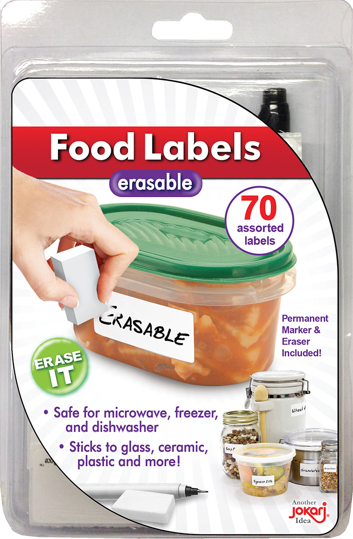 Jokari: Erasable Food Labels