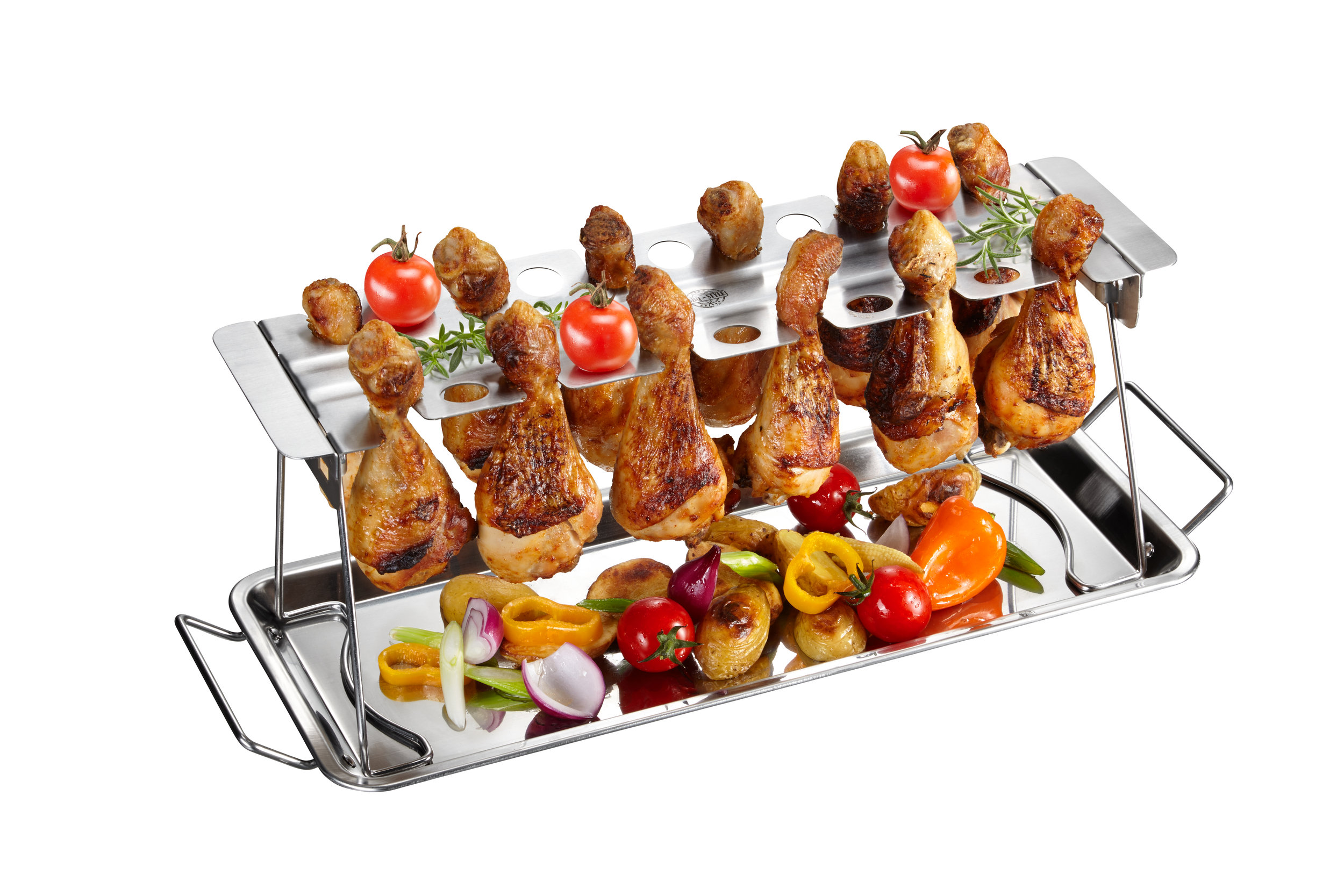 GEFU: BARBECUE CHICKEN LEG HOLDER