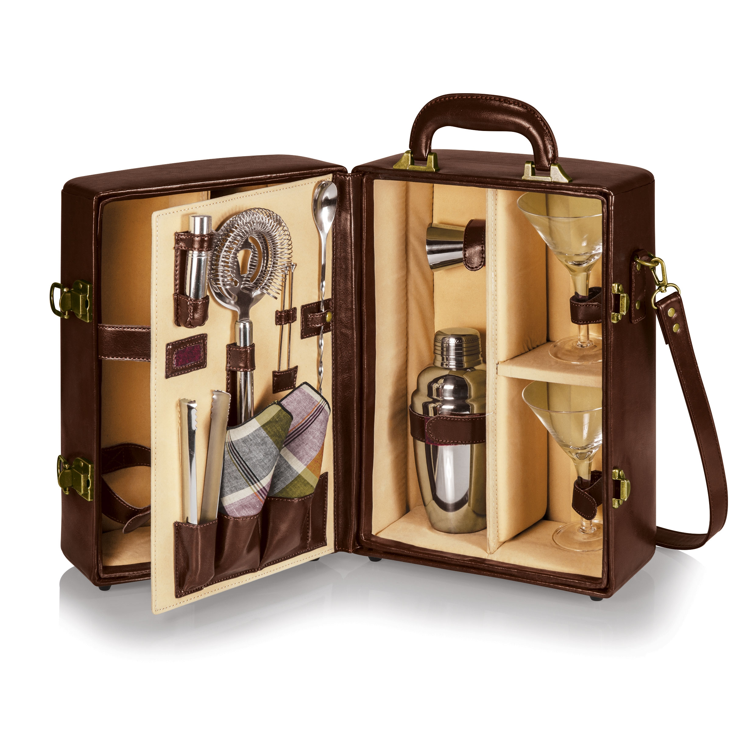 Picnic Time:  Manhattan Cocktail Case