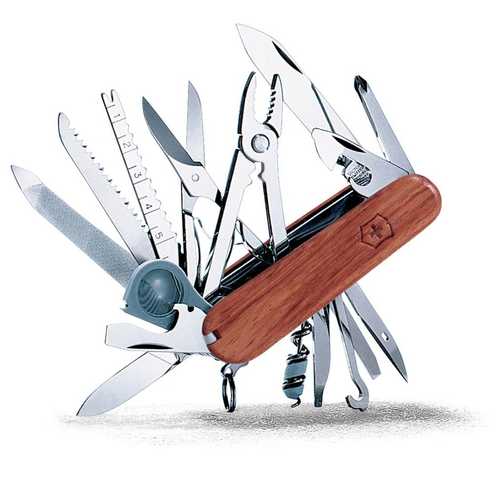 Victorinox: Swiss Champ Wood