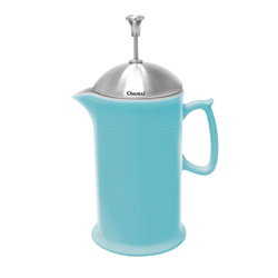Chantal: Ceramic French Press with Stainless Steel Plunger & Lid