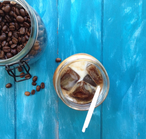 ICED COCONUT MILK LATTE