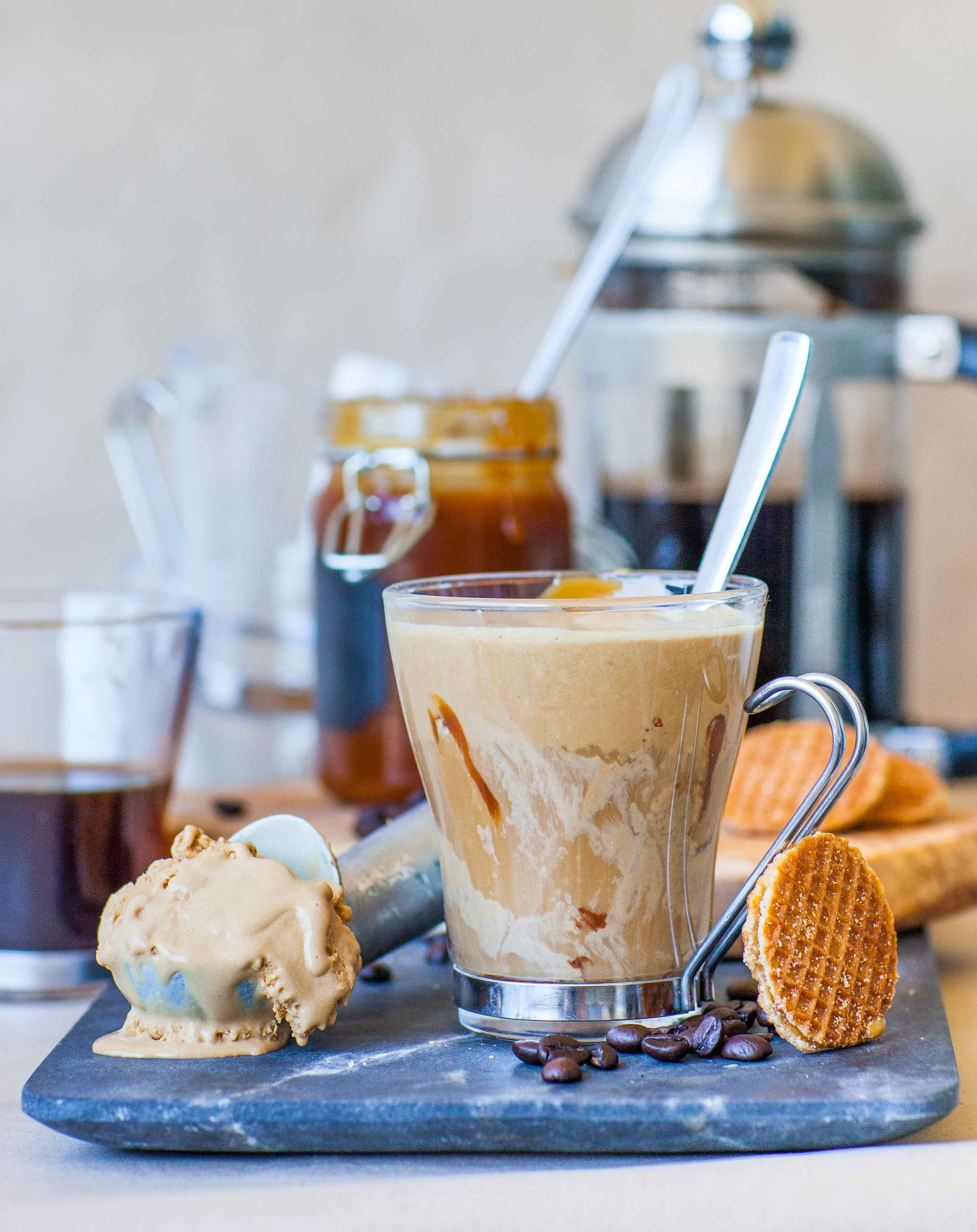 Affogato – Coffee Ice Cream Dessert