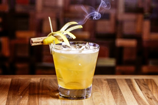 Oak and Smoke Cocktail