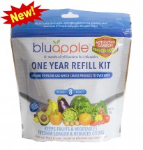 Bluapple: One-Year Refill Kit with Activated Carbon