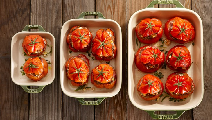 Stuffed Beef Tomatoes
