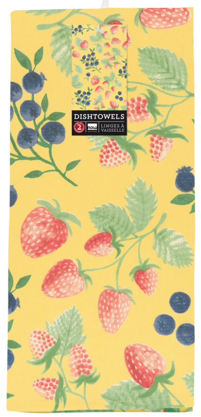 Now Designs: Berry Patch Dishtowel