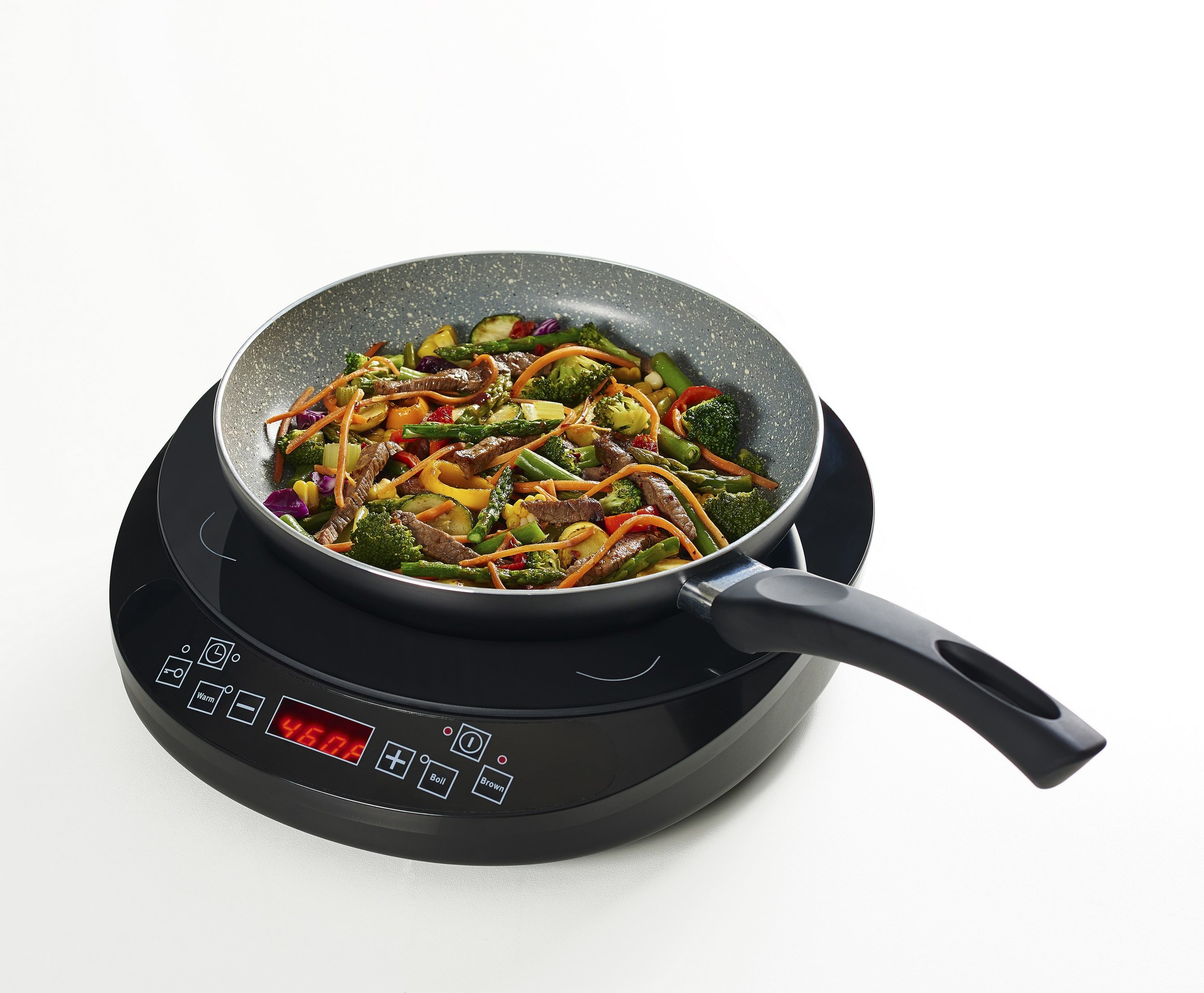 "Fagor: Eclipse Induction Set (Cooktop and 9.5"" Aluminum Skillet)"