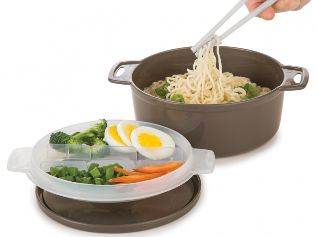 Progressive: 4pc Microwave Ramen Bowl To-Go