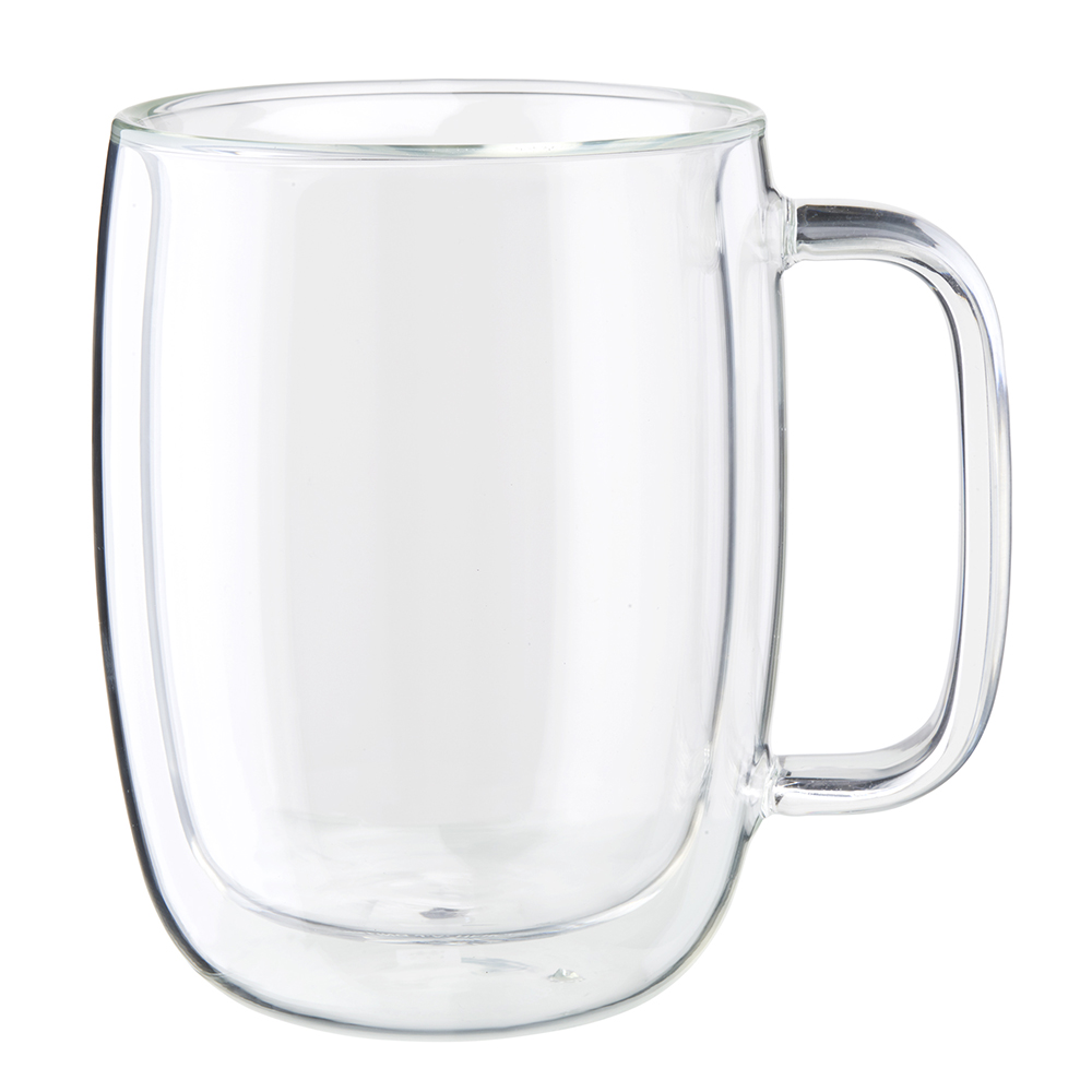 Zwilling: orrento Plus 2-pc Double-Wall Glass Latte Mug Set