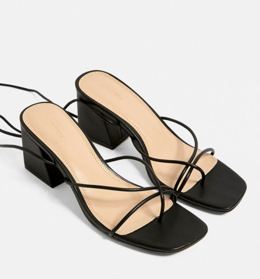 Barely- there Sandals - Now that the weather is finally warming up its time to ditch the boots and say hello to some strappy sandals. These dainty sandals are perfect for any summer occasion!