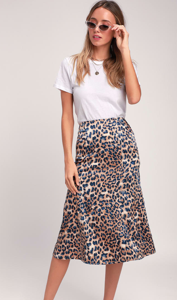 Animal Prints - Bring out your inner wild side with this bold trend.