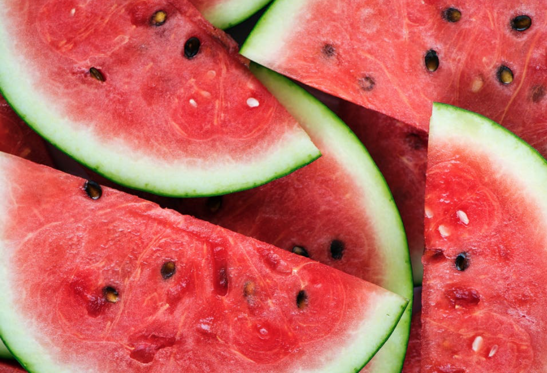 Foods That Cool - Another healthy tip that will keep you refreshed are fresh fruits and veggies!! Hot weather can cause a loss of water in our bodies so when having an afternoon snack switch out the chips for fruits and veggies high in water content. Foods like watermelon, cucumber, avocado, celery, apples, grapes, and melon are perfect for a hot summer day snack!