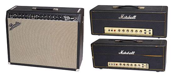 Amplificadores guitarra eléctrica para tocar rock