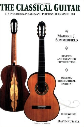 The classical guitar. Evolution, players and personalities since 1800 (Maurice J. Summerfield)