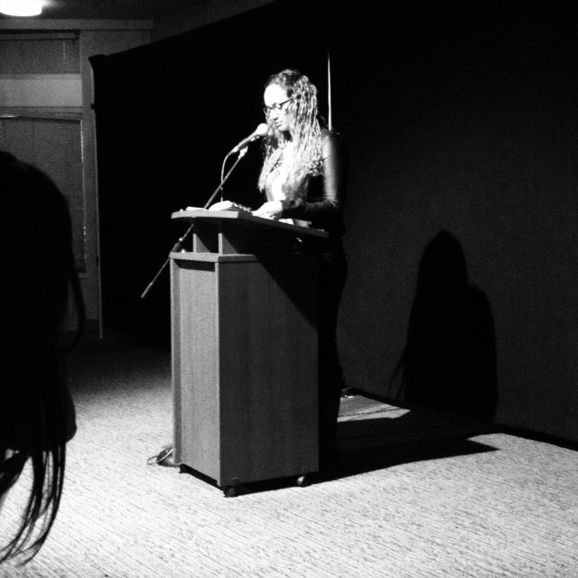 Reading at the Shadbolt, 2015