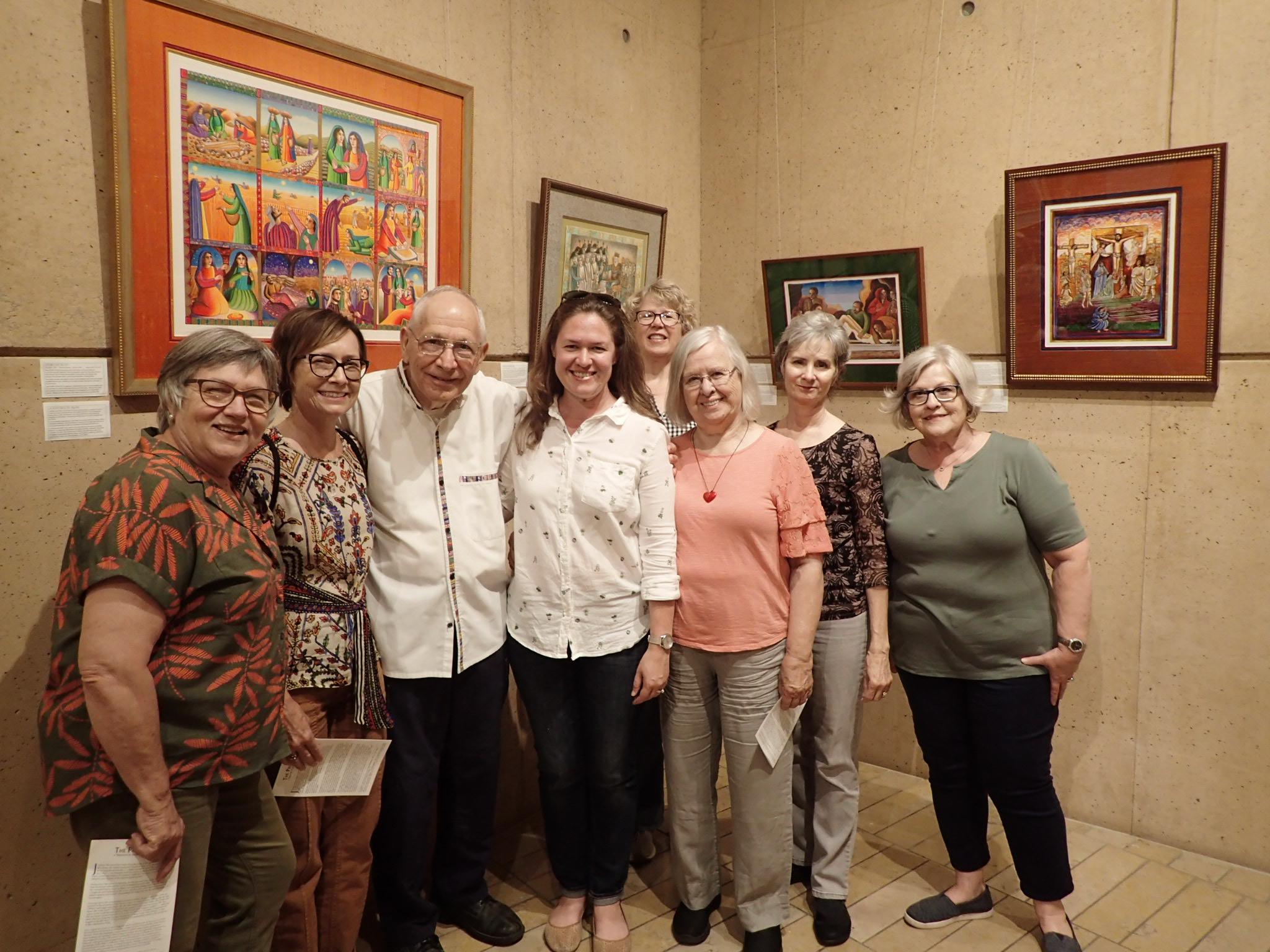Our group with John August Swanson