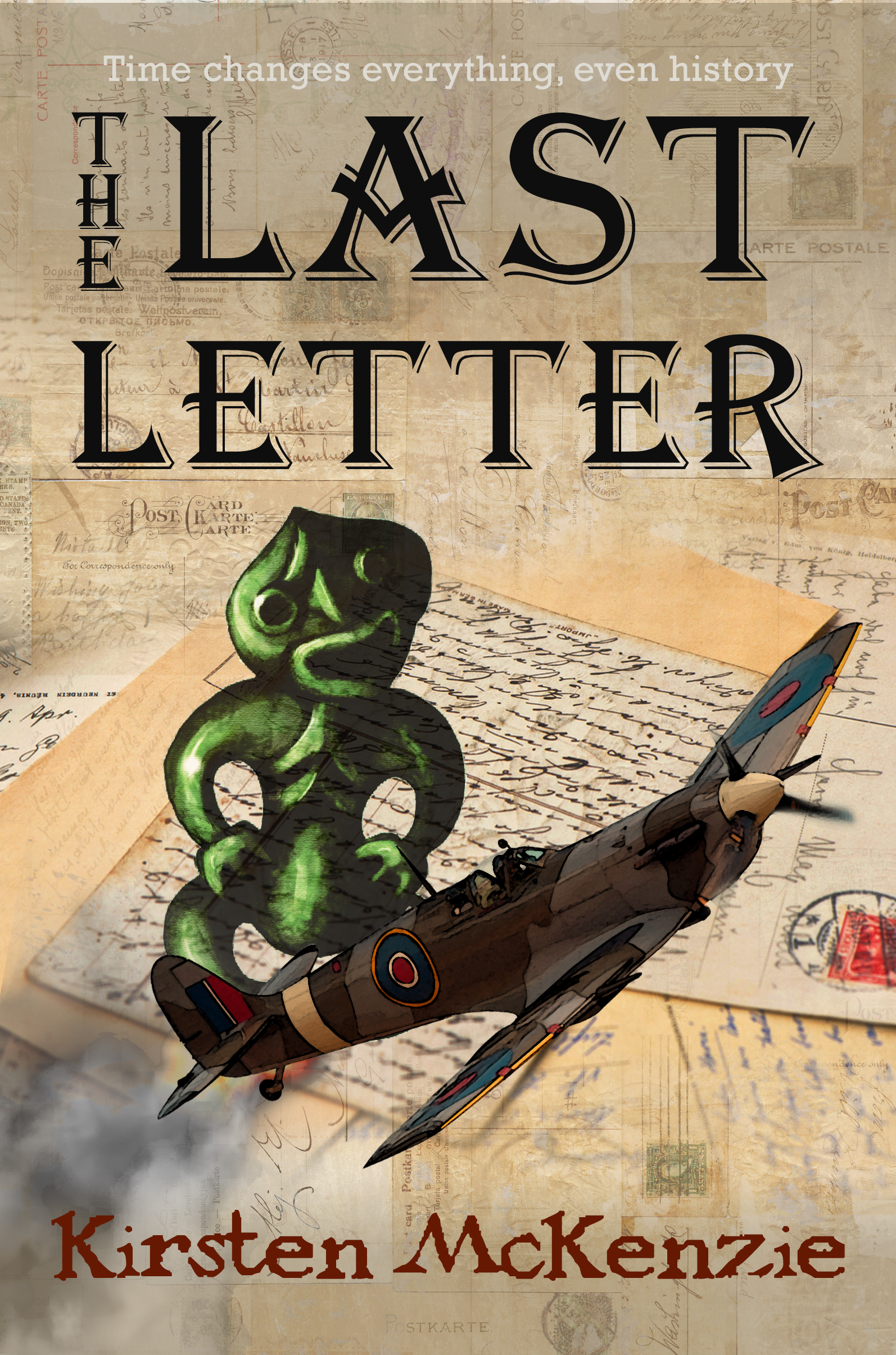 Draft cover #3 for 'The Last Letter'