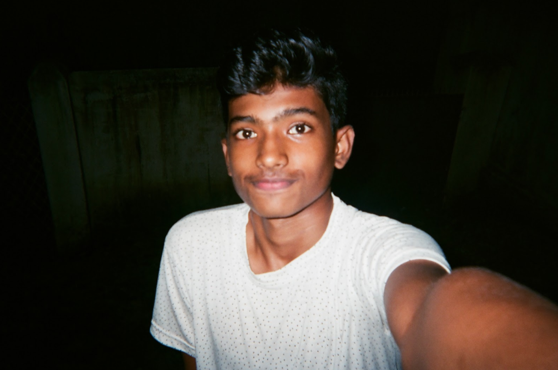 Nawas Al Sharaf    Age: 14    Kallekad, Palakkad, Kerala, India    If you could tell the world leaders one thing, what would it be?    Never separate people by religions and by poverty. There should be equal rights.    Photo subject: FOOD