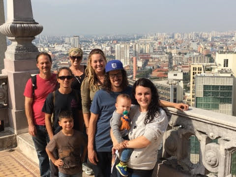 The Cherished Team with Tim & Becky of Casa Liberdade in Brazil.