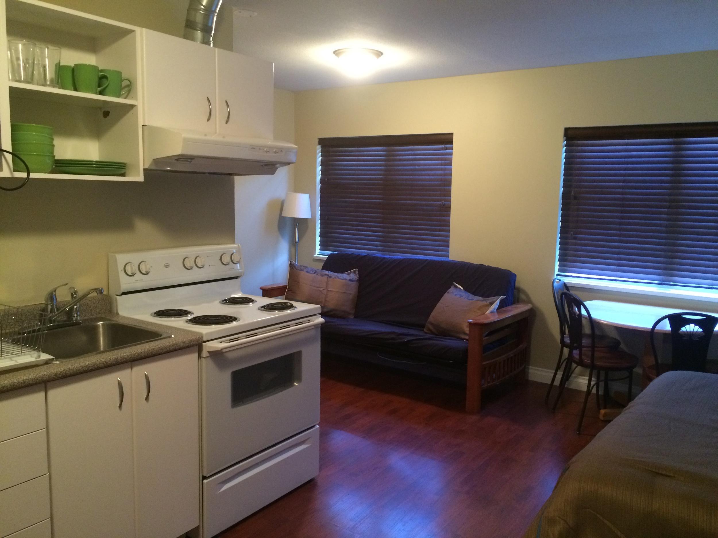 kitchenette suite facing windows.JPG