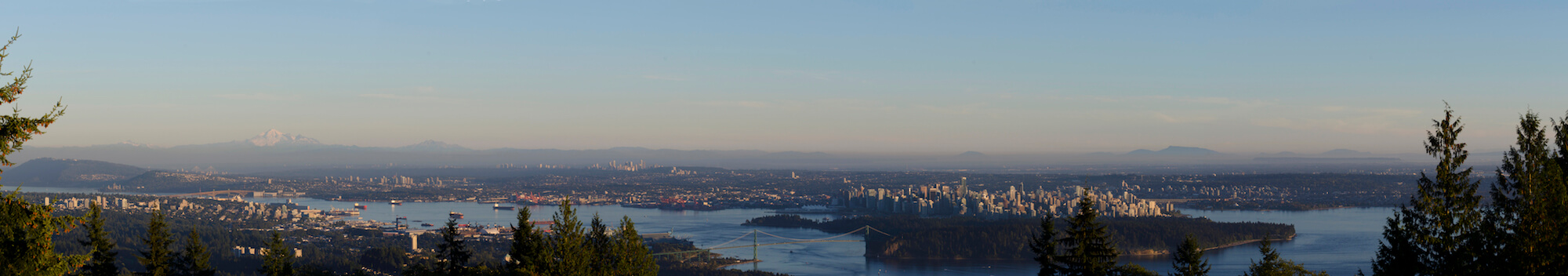 Say a final goodbye to Vancouver from the Cypress viewpoint.