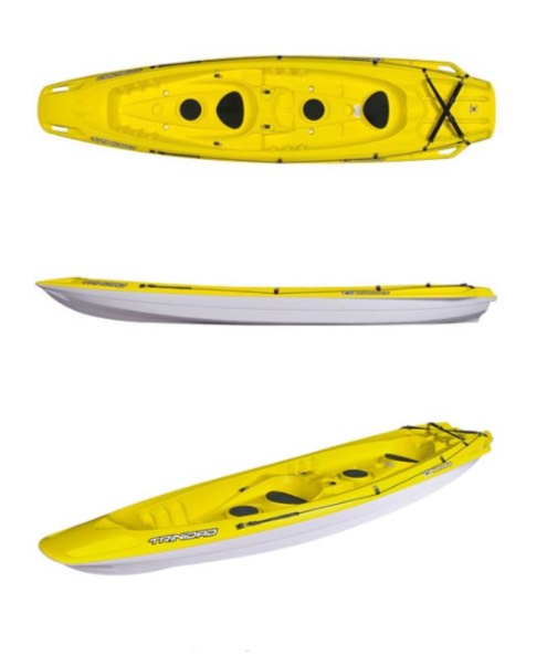 Double Kayak - Sit on top kayak. It's highly versatile and stable, making it suitablefor all kinds of situations. Very low draught and innovative hull design..SPECS11'9 | 3.59m - 63 lbs | 28.5 kg - MAX WEIGHT: 400 lbsPRICING1 Hour - $262 hours - $354 hours - $45Day Rental (10:30am - 6:30pm) - $65Overnight (After 5pm -> 11am return) - $4524 hour period - $99