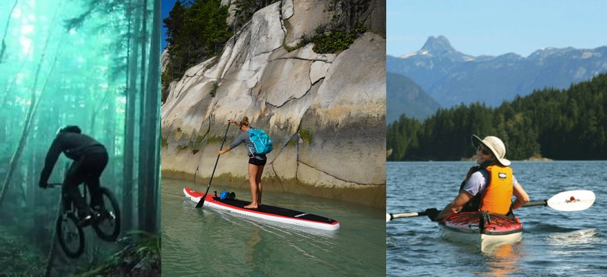 Want to go biking, kayaking or stand up paddle boarding? - Check out our in house rentals section